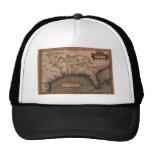 Gorra 1584 del mapa de la Florida del La