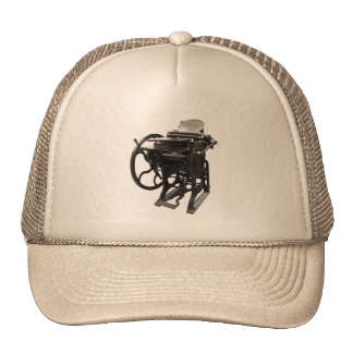 gorra 1888 de la prensa de copiar