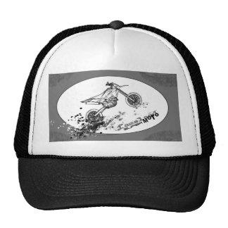 gorra #1 del camionero del supermoto