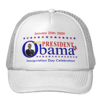 Gorra 2009 de la celebración del día de inauguraci