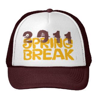 Gorra 2011 de las vacaciones de primavera 6 Brown