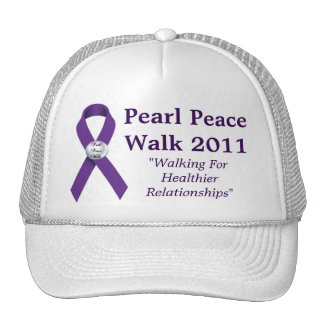 Gorra 2011 del paseo de la paz de la perla