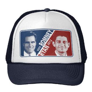 Gorra 2012 de Romney Ryan del voto