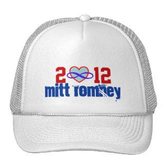 Gorra 2012 del corazón del infinito de Mitt Romney