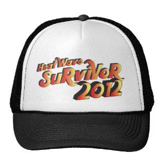 Gorra 2012 del superviviente de la ola de calor