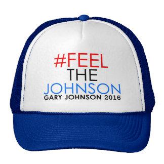 Gorra 2016 del camionero de Gary Johnson del