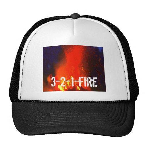 gorra 3-2-1-fire