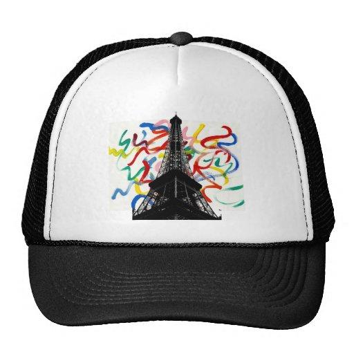 Gorra abstracto de la torre de Arte-Eiffel