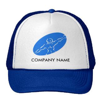 Gorra adaptable de la aptitud - azul