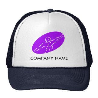 Gorra adaptable de la aptitud - púrpura