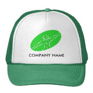 Gorra adaptable de la aptitud - verde