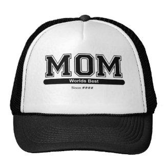 Gorra adaptable del día de madres de la mejor mamá