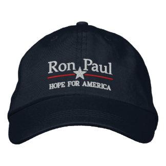 Gorra adaptable del estilo de Ron Paul Campiagn Gorras De Beisbol Bordadas