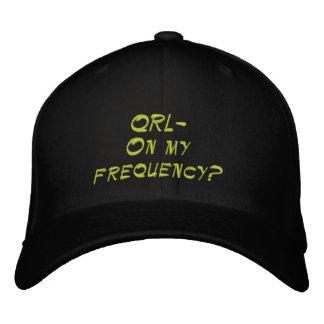 Gorra aficionado de la radio QRL Gorra De Beisbol