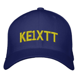 Gorra aficionado del indicativo de la radio/del gorra de béisbol