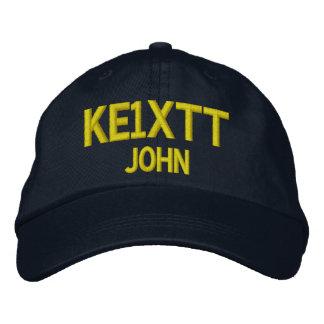 Gorra aficionado del indicativo de la radio/del gorra de beisbol bordada