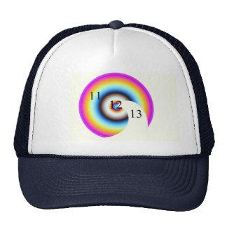 Gorra afortunado del camionero del número 13