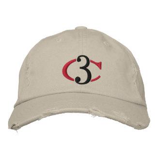 Gorra ajustable apenado logotipo del tipo de tela  gorra bordada
