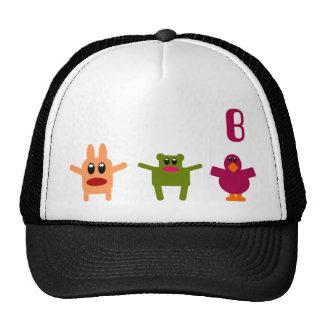 Gorra ajustable B del monograma de lúpulo de los m