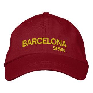 Gorra ajustable de Barcelona* España Gorra De Beisbol Bordada
