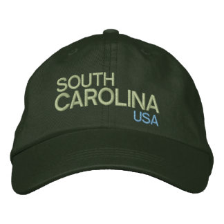 Gorra ajustable de Carolina del Sur * los E.E.U.U. Gorra De Beisbol Bordada
