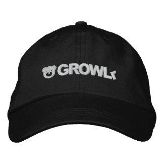 Gorra ajustable de GROWLr Gorras Bordadas