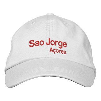 Gorra ajustable de Jorge* Açores del sao Gorra De Beisbol Bordada
