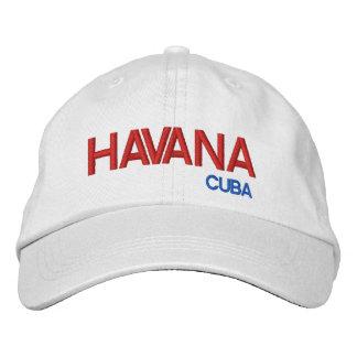 Gorra ajustable de La Habana Cuba* Gorra De Beisbol Bordada