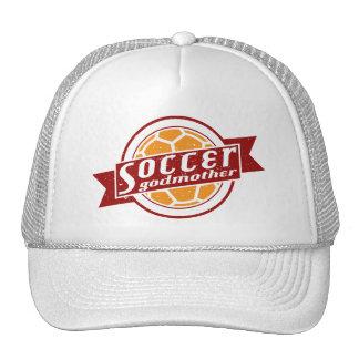 Gorra ajustable de la madrina del fútbol