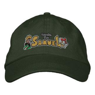Gorra ajustable de Samuel del muchacho psíquico Gorras De Beisbol Bordadas
