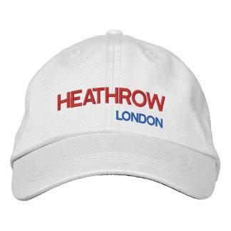 Gorra ajustable del aeropuerto de Londres Heathrow Gorra De Béisbol Bordada