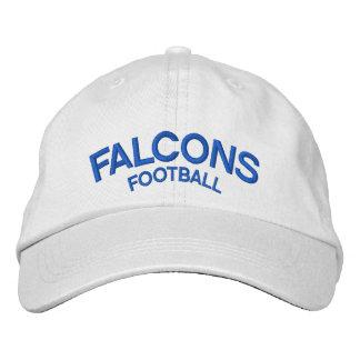 Gorra ajustable del fútbol de los Falcons Gorro Bordado