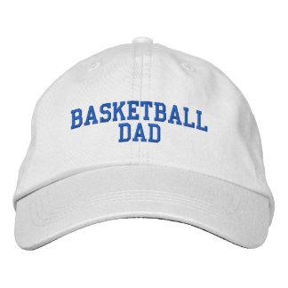 Gorra ajustable del papá del baloncesto gorra de béisbol bordada