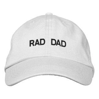 Gorra ajustable del papá del Rad Gorros Bordados