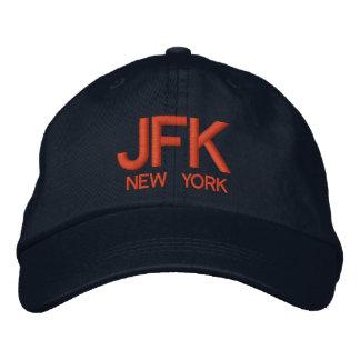 Gorra ajustable personalizado aeropuerto de JFK Gorros Bordados