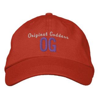 Gorra ajustable personalizado diosa original de OG Gorras Bordadas