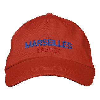 Gorra ajustable personalizado Francia de Marsella Gorra De Beisbol Bordada