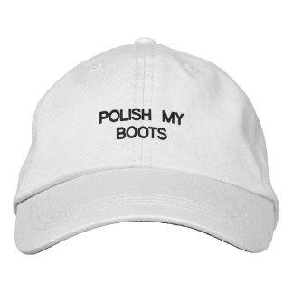Gorra ajustable personalizado gorros bordados