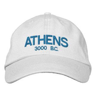 Gorra ajustable personalizado Grecia de Atenas Gorra De Béisbol Bordada