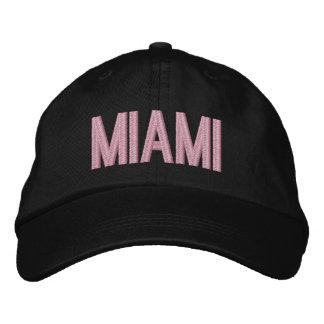 Gorra ajustable personalizado la Florida de Miami Gorras De Beisbol Bordadas