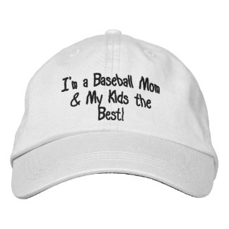 "Gorra ajustable personalizado ""MAMÁ del BÉISBOL "" Gorra De Béisbol"