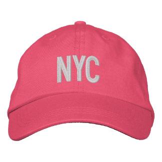 Gorra ajustable personalizado New York City de NYC Gorra De Beisbol Bordada