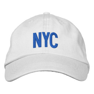 Gorra ajustable personalizado New York City de NYC Gorras De Béisbol Bordadas
