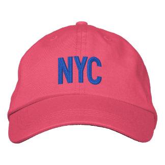 Gorra ajustable personalizado New York City de NYC Gorros Bordados