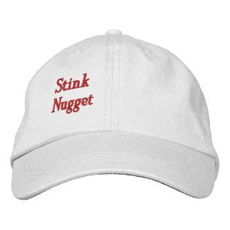 Gorra ajustable personalizado pepita del hedor gorras bordadas