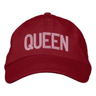Gorra ajustable personalizado reina gorra de beisbol
