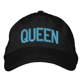 Gorra ajustable personalizado reina gorra de béisbol bordada