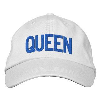Gorra ajustable personalizado reina gorras de béisbol bordadas