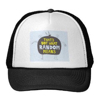 gorra al azar
