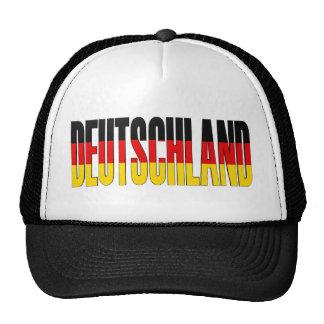 Gorra alemán de la bandera de Deutschland